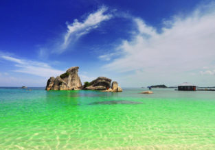 Cheap flights from Kuala Lumpur to exotic Belitung Island, Indonesia from only $47!