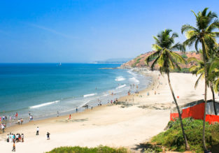 11-night stay at top-rated 4* hotel in Goa + flights from Zurich for only €468!