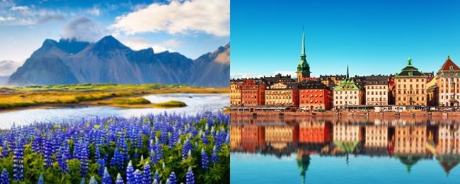 SPRING! Sweden and Iceland in one trip from Dubai for only $297!