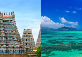 Chennai, India and exotic Reunion in one trip from Kuala Lumpur for $480!