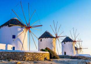 7-night stay in top-rated aparthotel in Mykonos + flights from Switzerland for €129!