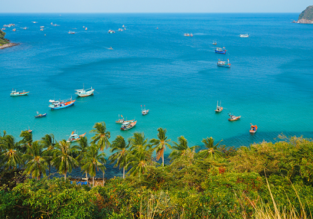 Cheap peak flights from Ho Chi Minh to the exotic Phu Quoc island from only $36!