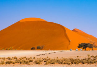 Cheap flights from many European cities to Namibia from €423!