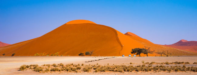 Cheap flights from Prague, Frankfurt or Ljubljana to Windhoek or Walvis Bay, Namibia from only €369!