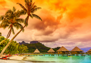 Full-service non-stop flights from San Francisco to French Polynesia for $605!
