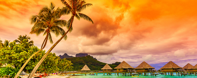 Full-service non-stop flights from San Francisco to exotic French Polynesia for $610!