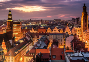 HOT! Oslo to Wroclaw, Poland from only €0.48!