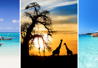 3 in 1: Zanzibar, South Africa and Seychelles from Brussels returning to Paris for only €635!