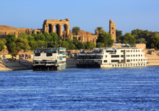 7-day Premium full board Nile cruise with flights from Germany from only €249!