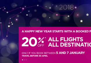 Wizzair New Year Sale: 20% off on all routes!