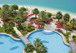 Double room at 5* luxury beach resort in Abu Dhabi for only €29! (€14.5/ $17 per person)