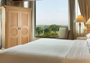 Double room at luxurious 5* Hyatt Regency Yogyakarta for only €20.50/ $23 per person!