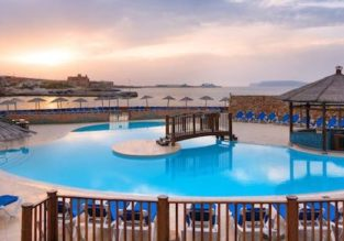 7-night B&B stay in top-rated 4* Resort in Malta + flights from Germany from only €115!