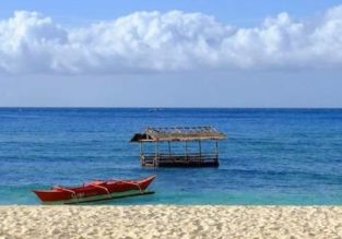 7-night B&B stay in top-rated beachfront bungalow in Panay Island, Philippines + flights from Singapore for $177!