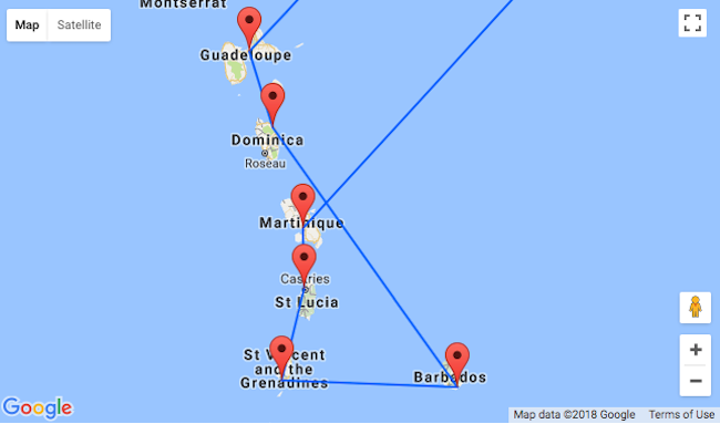 Caribbean Island Hopper From Paris For 524 Visit Guadeloupe