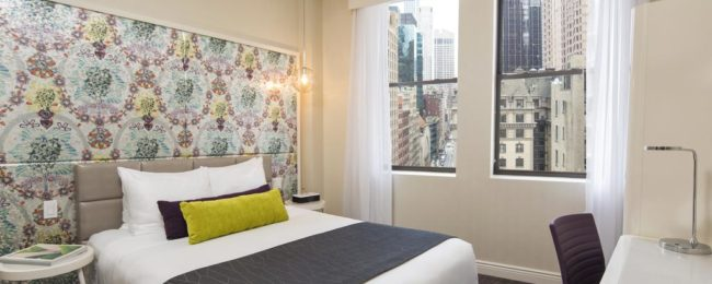 HOT! Double room at top rated 4* hotel in Manhattan for only €36! (€18/ $22 per person)
