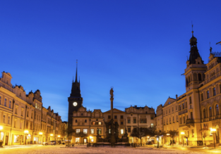 Cheap flights from London to Pardubice (or vice versa) for only £14!
