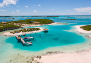 Cheap flights from Paris to the Bahamas for only €422!