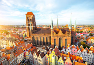Summer: Cheap flights from Vienna to Gdansk and vice versa for only €19!