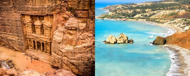 Cheap flights from Cyprus to Jordan or vice-versa for only €2 one-way!