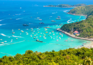 7-night stay at very well-rated hotel in Pattaya + flights from Kuala Lumpur for just $150!