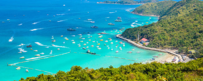 5* Qatar Airways flights from Munich to Pattaya, Thailand for only €400!