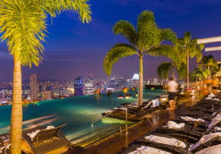 Cheap flights from Spain to Singapore from only €370!