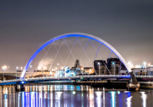 Cheap flights from Frankfurt to Glasgow, Scotland and vice-versa from only €11/£12!