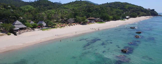 Double room (40 sq.m.) at top-rated beach resort in Koh Lanta Island for only €28! (€14/ $17 per person)