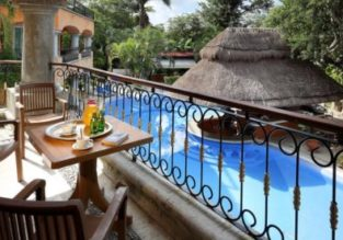 B&B stay in top-rated 5* hotel in Playa del Carmen, Mexico from only €49! (€24.50 / £21.50 per person)
