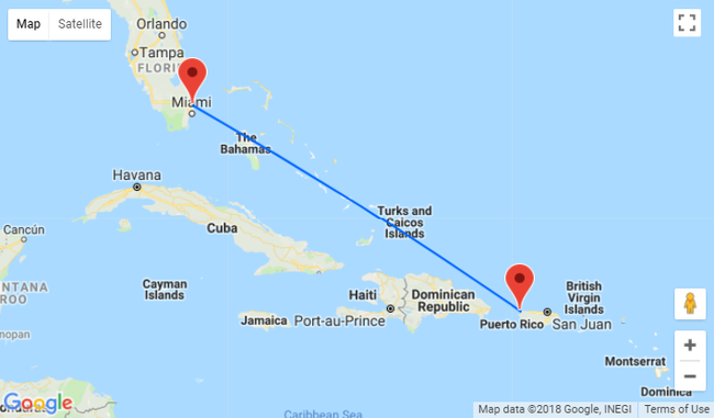 Cheap flights from Florida to Puerto Rico from just $78 one-way or $151 return!