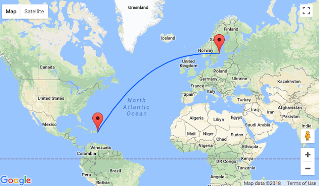 Punta Cana Location On World Map.Hot Non Stop Flights From Stockholm To Punta Cana For Only 227