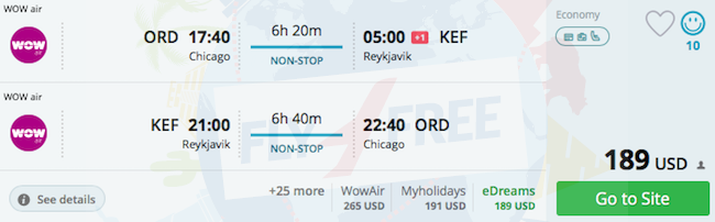 Spring Non Stop Flights From Many Us Cities To Iceland