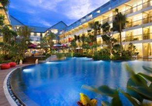 X-MAS & NYE! Superior room at top rated 4* Ramada Encore Bali for only €25! (€12.5/ £11 per person)