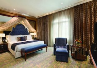 Double room at luxurious 5* Wyndham Grand Regency Doha for only €54! (€27/ £24 per person)