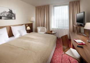 HOT! NEW YEAR: Double room at top rated 4* Clarion Hotel Olomouc, Czech Republic for only €15! (€7.5/ £6.5 per person)