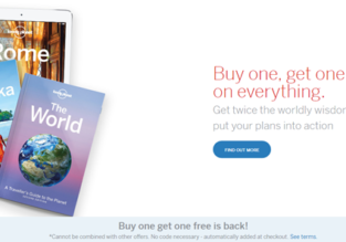 Lonely Planet SALE: buy one get one FREE on everything!
