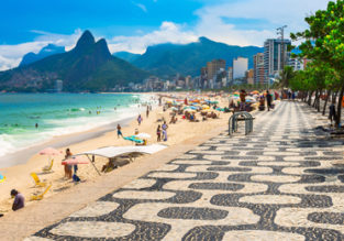 Peak season! Cheap flights from Italy to Rio de Janeiro or Sao Paulo, Brazil from only €310!
