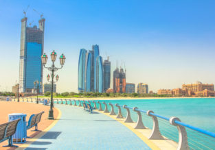 Abu Dhabi luxury getaway! 6-night B&B stay at top rated 5* Hilton hotel + flights from Germany from only €336!