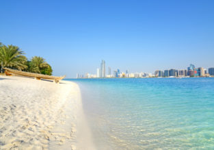 Cheap Turkish Airlines flights from Dublin to Abu Dhabi, UAE for just €280!