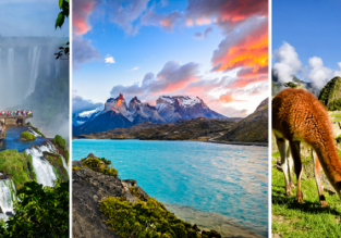 UK to Italy, Brazil, Argentina, Chile, Peru and Florida in one trip for £849!