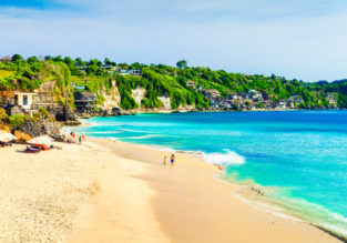 Cheap flights from Frankfurt to Bali for €444 with checked bag included!