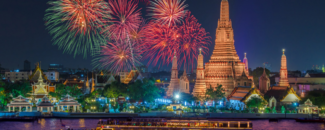 HOT! X-MAS & NYE! Open jaw flights from Europe to Kuala Lumpur & Bangkok for €178!