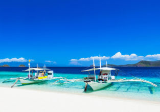 Cheap flights from Spain to Manila, Philippines for only €413!