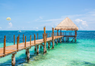 Holiday in Mexico! 7-night stay at well-rated aparthotel in Puerto Morelos, Quintana Roo riviera + direct flights from New York for just $338!