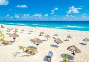 CRAZY HOT!! Business Class flights from New York, Houston, Orlando or Washington D.C. to Cancun, Mexico from only $388!