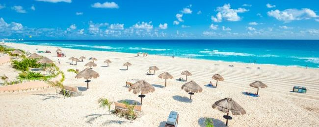 High Season! Cheap full-service flights from French cities to Cancun from only €338!