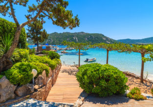 Nantes and Corsica in one summer trip from London for £73!
