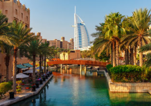 Double room at top-rated 5* hotel in Dubai for only €40 (€20/£15 pp)!