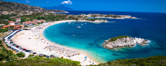 JUNE: 7-night stay at well-rated apartment in Halkidiki + cheap flights from Berlin for just €153!